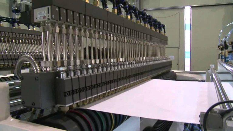 HEPA pleating machine
