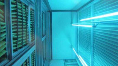 HVAC UV Light Filtering